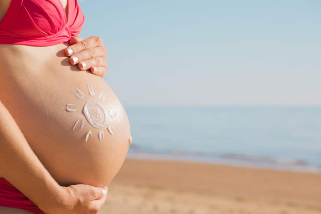 Sunscreen_pregnant