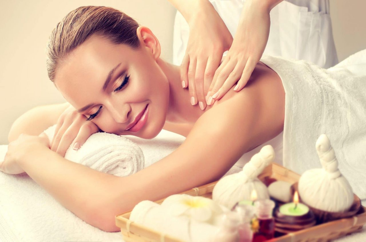 Massage,And,Body,Care.,Spa,Body,Massage,Woman,Hands,Treatment.